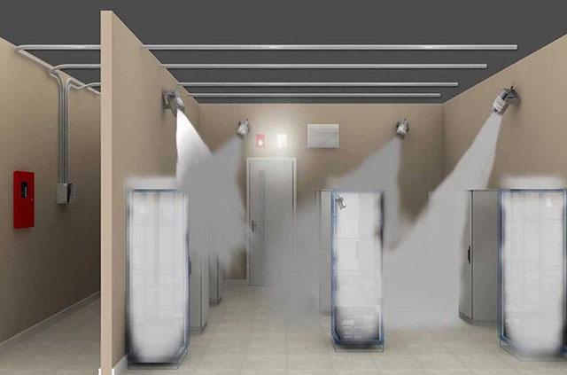 سیستم اطفاء حریق اتوماتیک پودری (آیروسل)