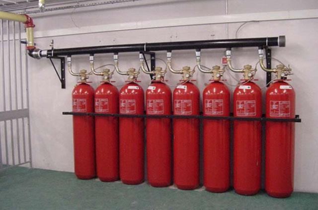سیستم اطفاء حریق اتوماتیک گازی