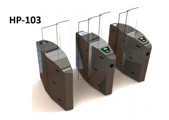 گیت شیشه ای مدل HP103