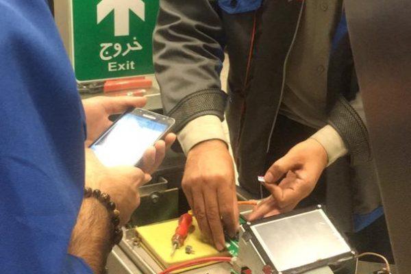 طراحی و تولید کارتخوان های متروی شیراز