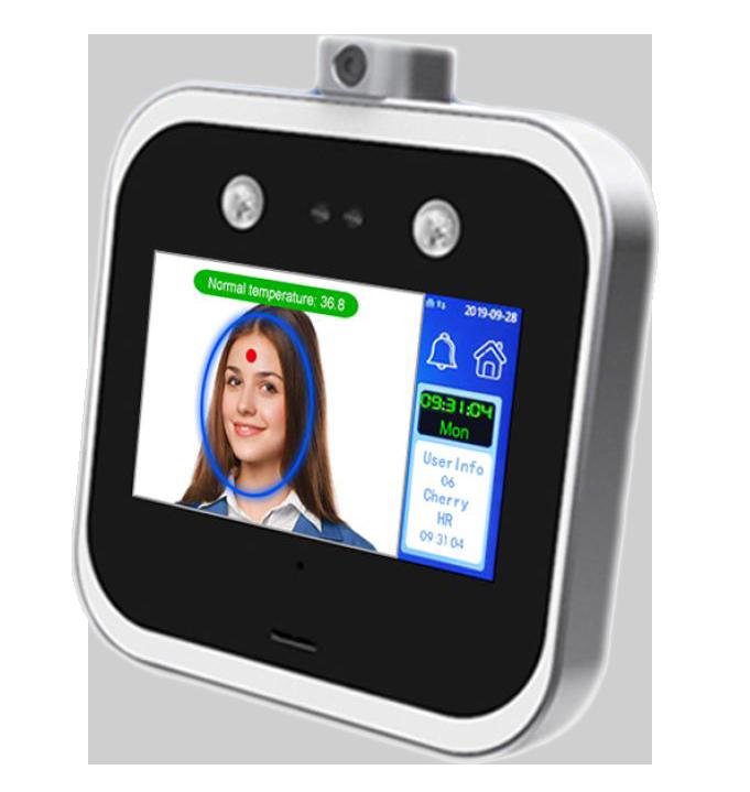 دستگاه تشخیص چهره و تب سنج