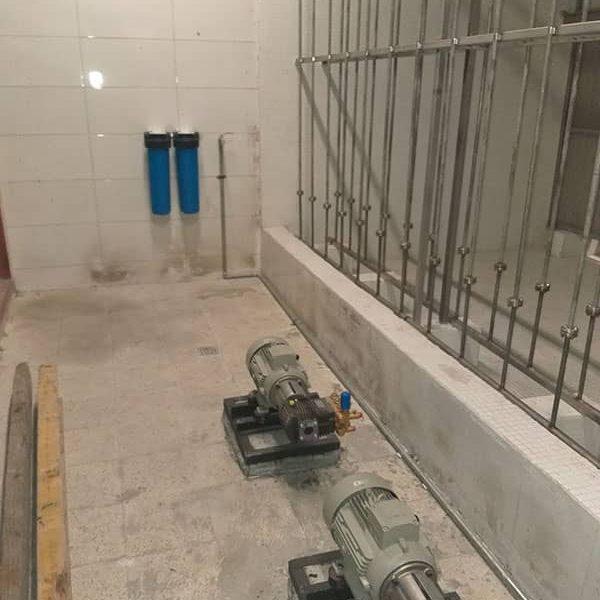 تامین تجهیزات سیستم مه پاش خط ۶ مترو تهران