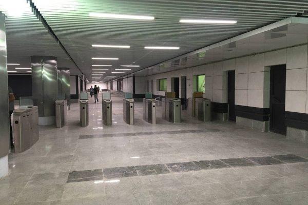 نصب و راه اندازی سیستم AFC خط 2 مترو کرج