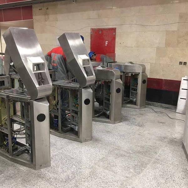 نصب و راه اندازی سیستم AFC خط 6 متروی تهران